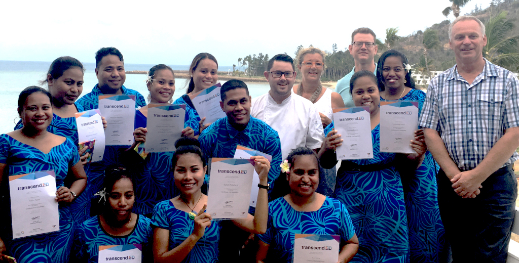 First Kiribati Workers Graduate