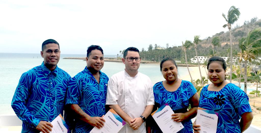 First Kiribati Workers Graduate
