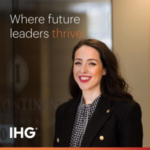 Leadership opportunities with InterContinental Hotels Group