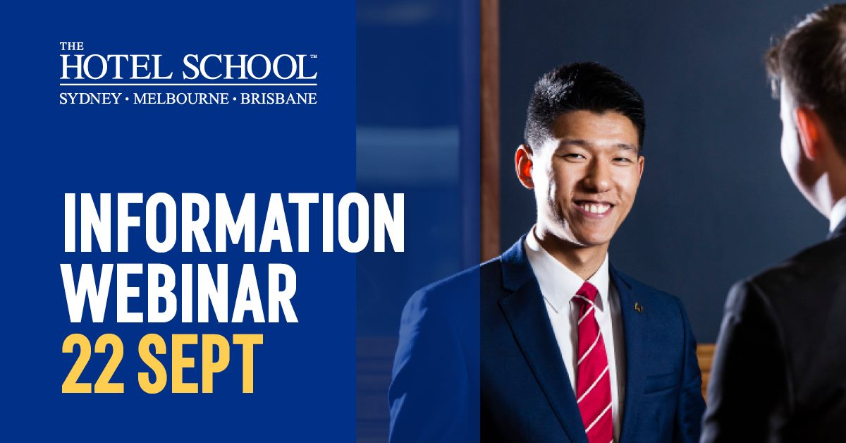 The Hotel School Information Webinar